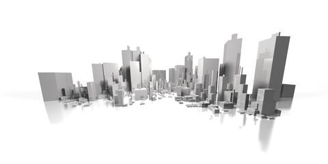 wide cityscape