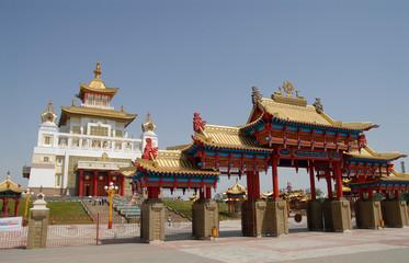 Buddisky temple Kalmykia
