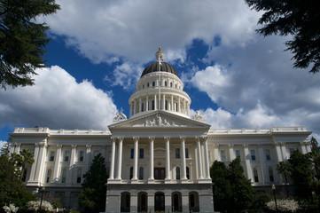 California State Capital  close up