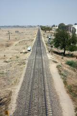 Long Railway Track