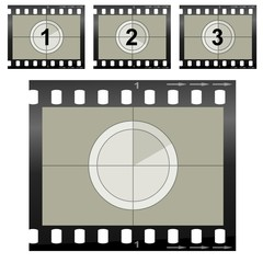 Video Camera Film Segments