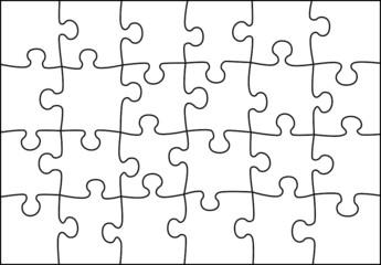 transparent puzzle