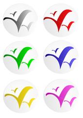 Logos d'oiseaux