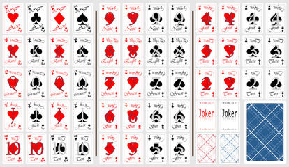 Set of cards