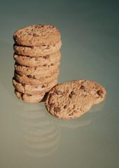Cookies aux Pépites de Chocolat (avec reflet)