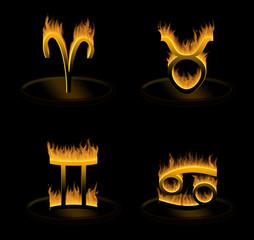 hot zodiac, part 1