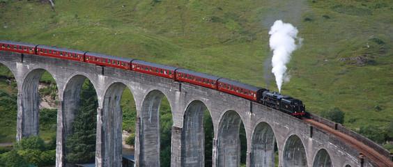 Glenfinnan Viadukt, Schottland, UK