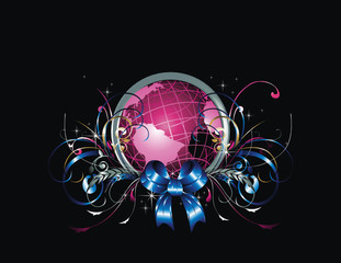 Fantasy Globe Vector