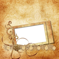 victorian background with stamp-frames