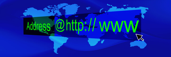 blue world web banner