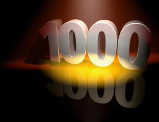 1000 anniversary celebration