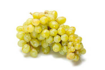 isolated green grape