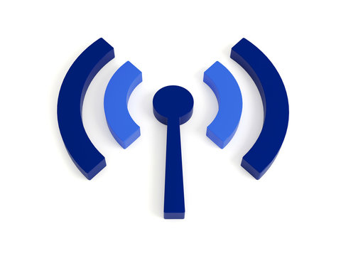 Isolated wi fi (wireless) icon