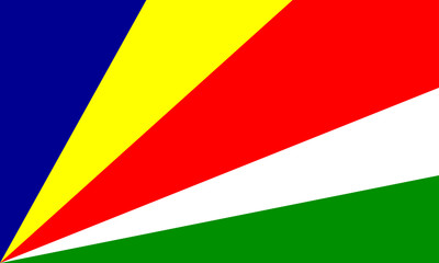 seychellen fahne seychelles flag