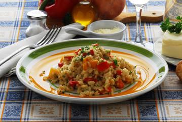 Risotto alla vogherese - Primi piatti della lombardia