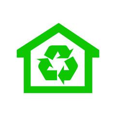 icona casa verde