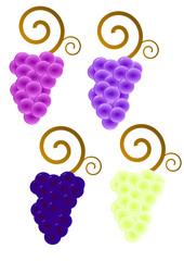 Logos de raisins