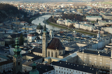 Salzburg Austria Aerial View