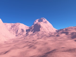 Fremdartiges Gebirge