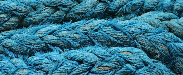 Wall Mural - pêche,bateau,corde,cordage,cordes,cordages,bleu ,bleue ,bretagne