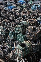 casier,casiers,pêche,bateau,corde,cordage,bretagne,homard,crabe