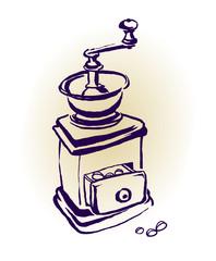 Kaffeemühle justimage