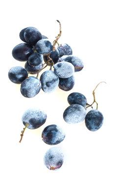 Grapes frozen.