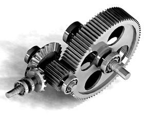 mechanical metal gear