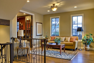 Home Foyer and Reception Area