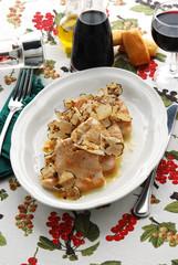 Scaloppine al tartufo - Secondi di carne della Toscana