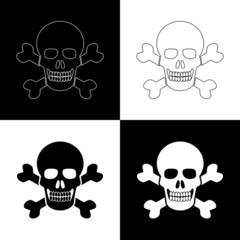 skull signs