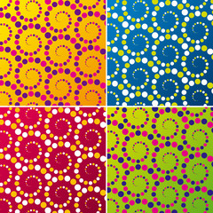 Abstract retro pattern. Vector illustration.