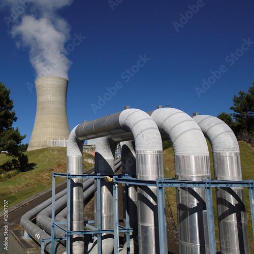 Erdwärme Kraftwerk