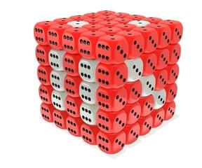 Raspberry dice cluster