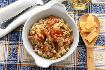 Risotto alla paesana con pancetta - Primi piatti Lombardia