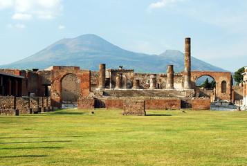 Pompei and Mount Vesuvius