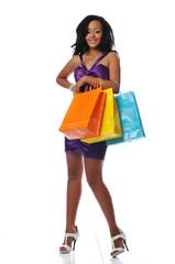 African american shopper