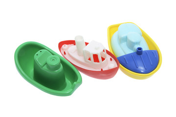 Plastic Toy Boats