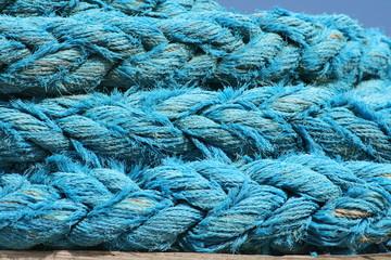 Wall Mural - pêche,bateau,corde,cordage,cordes,bleu ,bleue ,bretagne