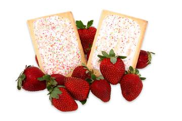 Breakfast Pastries in Strawberries