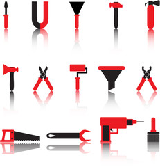 vextor tools icon set