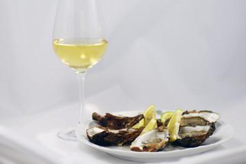 Chablis und Austern