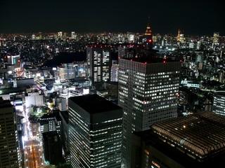 日本の夜景(東京都 新宿)