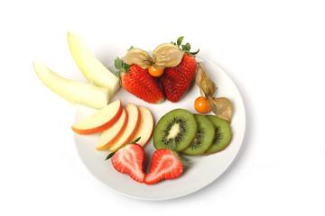 gesunder obstteller