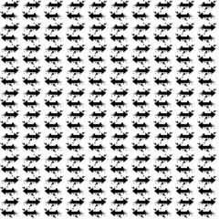 Vector Seamless pattern in modern style