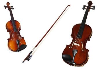a violins and a fiddlestick