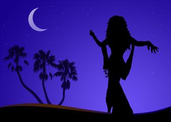 danzatrice nel deserto 2