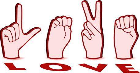 Sign Language of Love