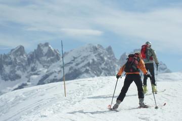 sci di alpinismo