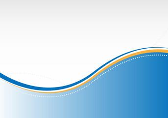 business design blue/orange